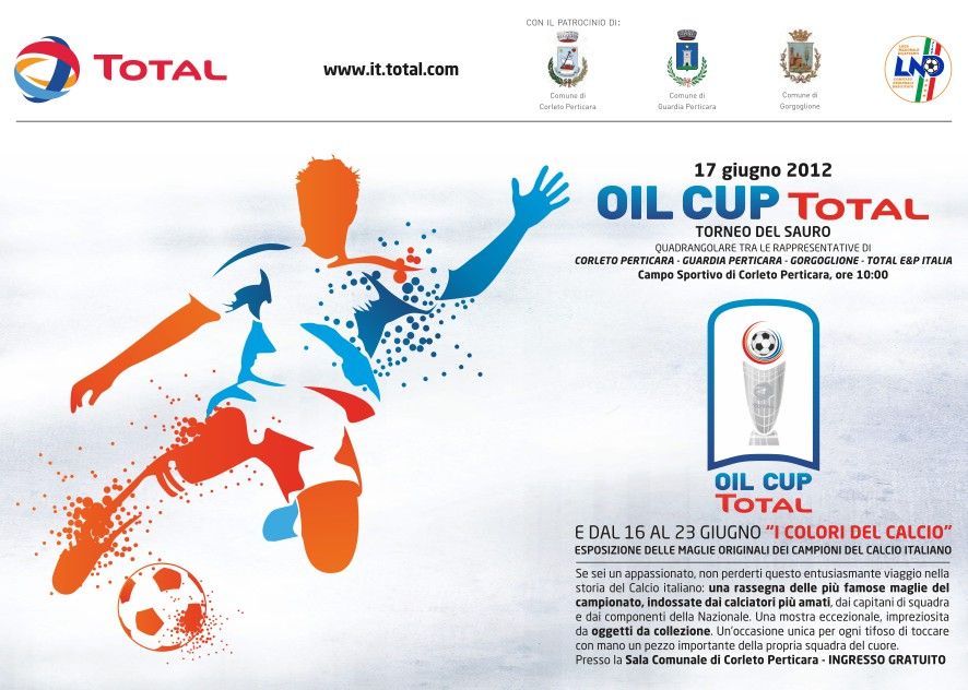 Total Oil Cup Cartolina